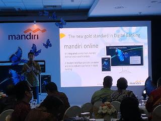 Mandiri Online, Standar Baru Digital Banking