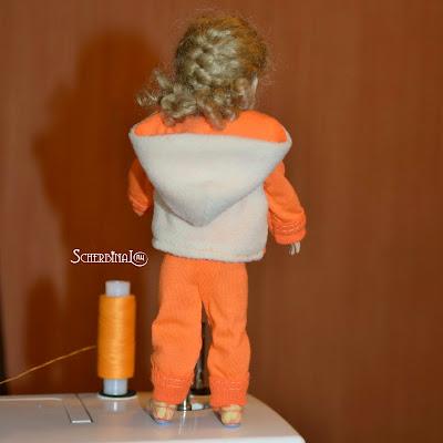 спортивный костюм для куклы
