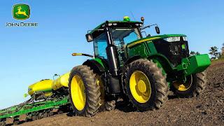 7290R John-Deere Row Crop Tractors