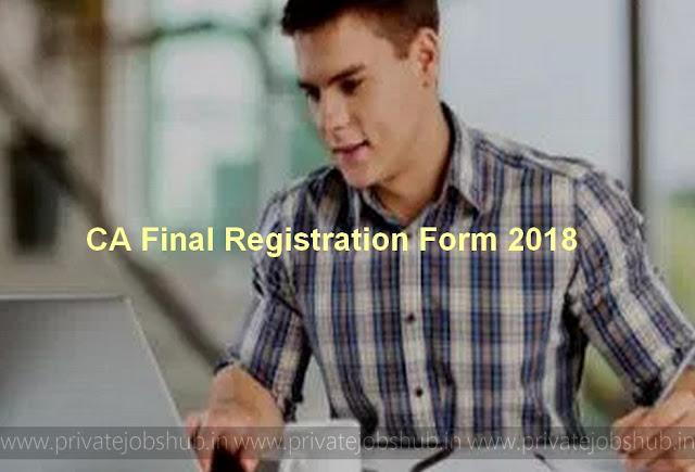 CA Final Registration Form
