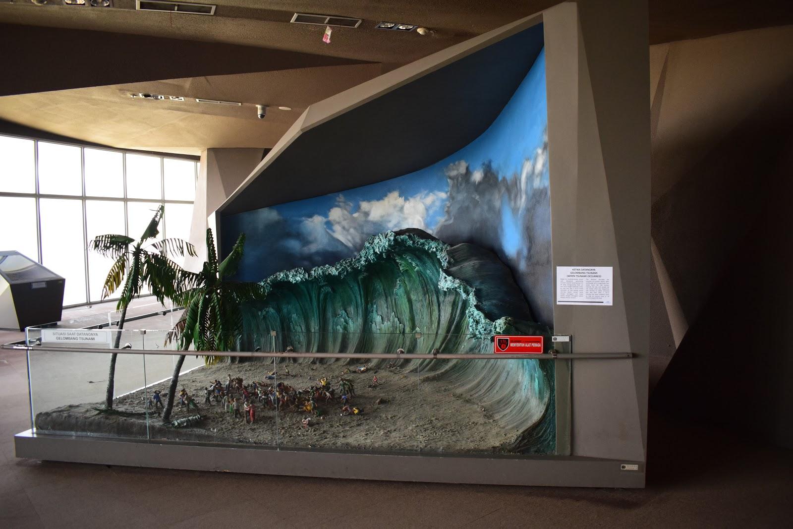 diorama museum tsunami
