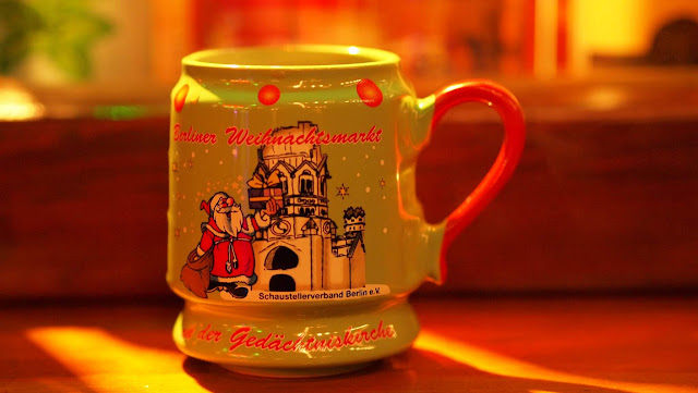 Glühwein mug from the Christmas Market in Berlin