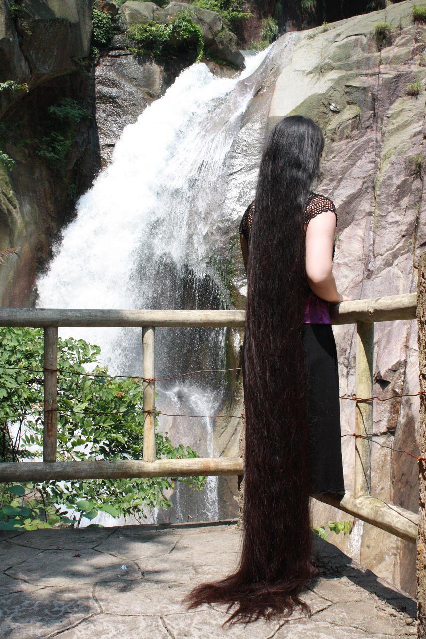 Indian Long Hair Girls Long Hair Girls From Indian Villages-6013