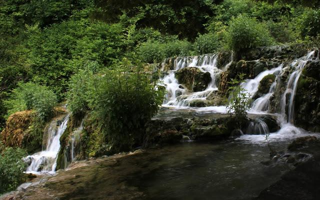 Aguas cristalinas del arroyo