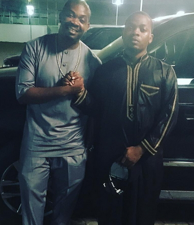 olamide don jazzy headies drama staged