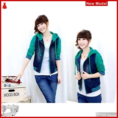 FHGS9123 Model Jaket Chery Tosca, Perempuan LO Jaket Jeans BMG