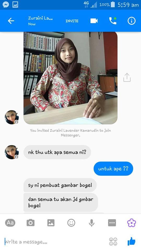 Gadis Melayu Diugut, Gambar B0g3l Tersebar   OH BULETIN