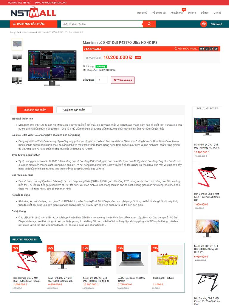 Template blogspot bán hàng máy tính chuẩn seo - Ảnh 2