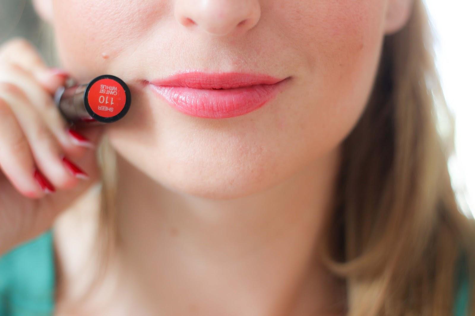 Red Lips- Roter kräftiger Lippenstift-Sexy Balm - Lippenstifttest - Lippenstift Bericht - beauty Blog - Fashionstylebyjohanna - Blogger aus Frankfurt - Frankfurt Fashionblogger