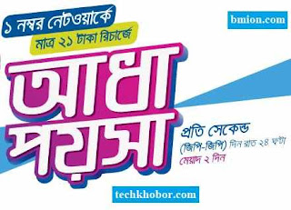 Grameenphone-GP-21Tk-Recharge-Callrate-Offer-0.5-poisha-sec-GP-GP-&-1poisha-sec-GP-other-operator