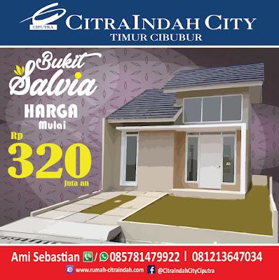 Bukit SALVIA - All New Semi RE Citra Indah City mulai dirilis - Harga Mulai 321 Jtan