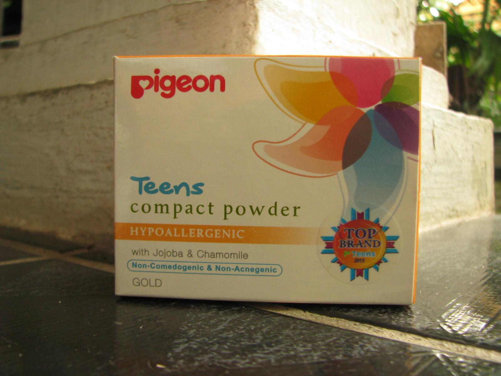 Pigeon Teens Compact Powder Hypoallergenic Yellow 20g Daftar Harga Refill 20 Gr Gold Review 2 Minggu Pemakaian