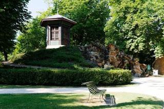 jardin de la propriété Caillebotte