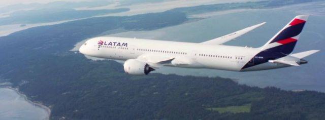 ✈️LATAM informa suspensión temporal de vuelos internacionales