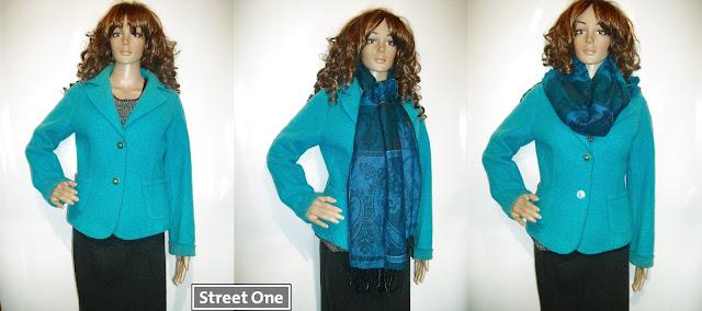 Jacheta *Street One*, lana pura, superba!