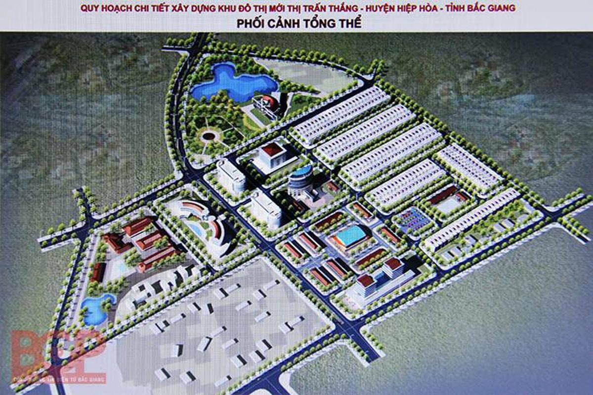Tổng thể dự án Tnr Stars Hiệp Hòa Bắc Giang