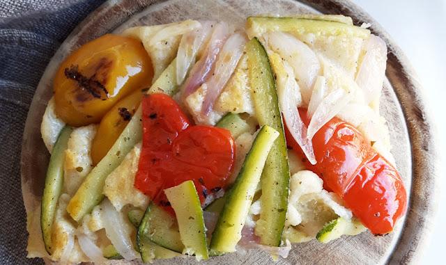 La pizza da fare in fretta di Paoletta con metodo di cottura capovolta