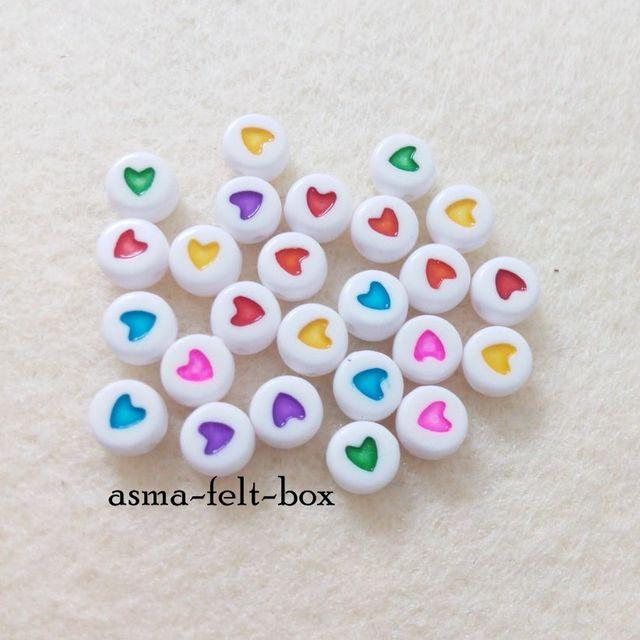 Craft Supply Baru : Heart Beads