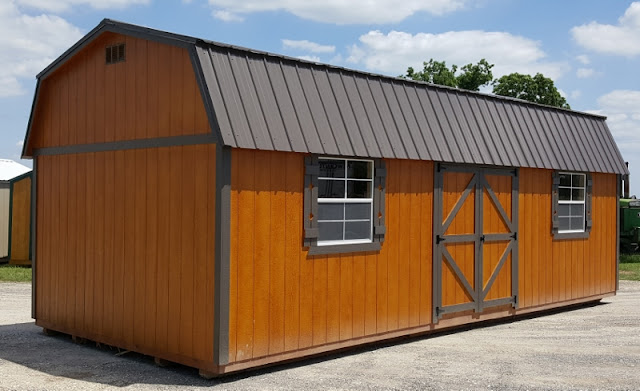 Wolfvalley Buildings Storage Shed Blog : Brand new Lofted