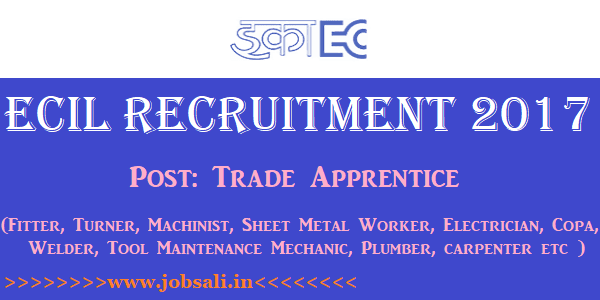 ECIL Careers, ECIL Apprentice jobs, ECIL Job Oportunities