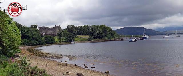 Escocia, Castillo de Dunstaffnage