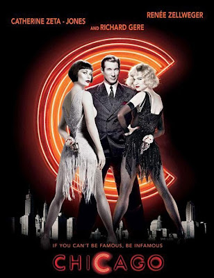 Poster Of Hollywood Film Chicago (2002) In 300MB Compressed Size PC Movie Free Download At worldfree4u.com