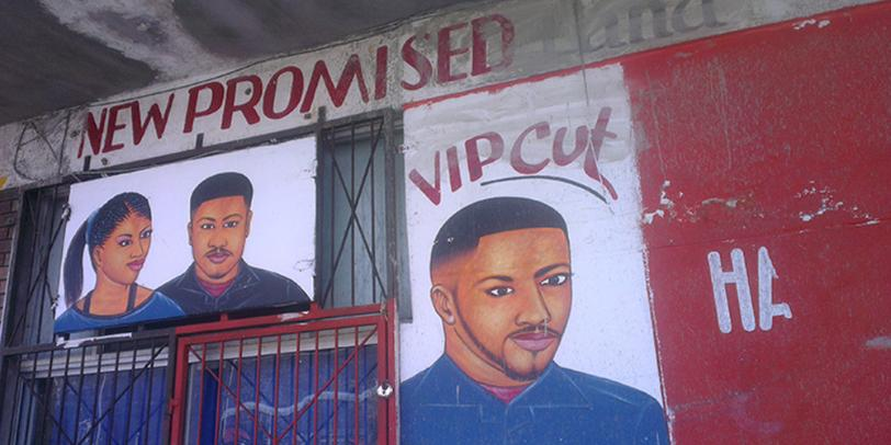 South Africa's Township Barber Shop Art