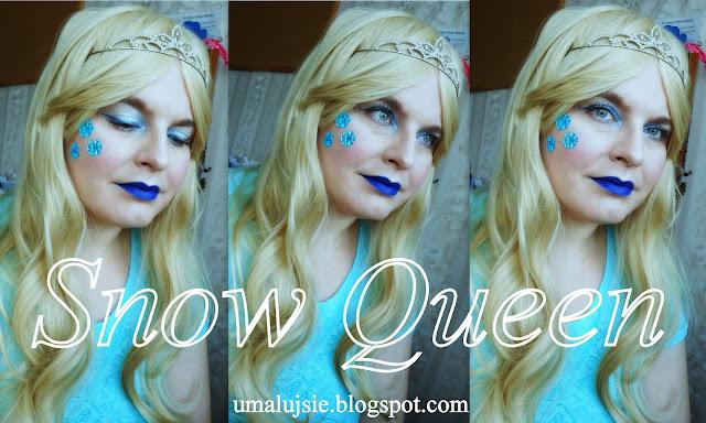 Makijaż na karnawał: Królowa Śniegu #2/ snow queen makeup