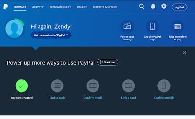 Cara Mudah Daftar Dan Membuat Akun Paypal Terbaru