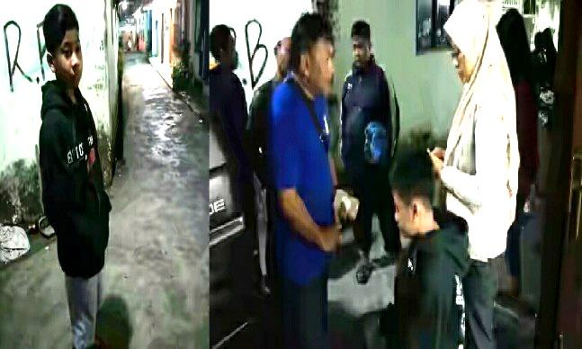 """Indikatormalang.com - Tindak kejahatan kembali  terjadi di kawasan Alun-alun Kota Malang. kali ini menimpa dua remaja pelajar SMP asal Wajak Kabupaten Malang.  Saat itu korban bernama Fadilah Firmansyah (14) bersama seorang temannya sedang jalan-jalan ke Alun-alun usai membeli sepatu. Tiba-tiba, ia didatangi dua orang pemuda yang meminta korban untuk menyerahkan barangnya.   Para pelaku mengancam korban menggunakan obeng.Karena takut, keduanya mengikuti perintah pelaku untuk menyerahkan barang berharganya berupa handphone.  Rupanya para pelaku belum puas. Kedua korban kemudian diajak berputar-putar mengelilingi Kota Malang. Sekitar pukul 10 malam, Fadilah Firmansyah diturunkan disebuah gang Jalan Laksamana Martadinata Kedung Kandang Kota Malang oleh para pelaku.  Sementara temannya terus dibawa oleh pelaku bersama motornya. Diduga para pelaku hendak mengambil motor korban.  Nasib baik, warga sekitar melihat Fadilah yang sedang kebingungan.  """"Saya curiga melihat korban kebingungan di dalam gang. Saya kemudian menanyai Fadilah. Ternyata dia menjadi korban pemerasan"""" terang Dicky Rahman, salah satu warga yang menolong korban.  """"Saya akhirnya sama orang sini membantu dia. Kami cari teman korban yang masih dibawa pelaku sama sepeda motornya"""" tambah Dicky kepada wartawan.  Usaha pncarian tidak sia-sia, ahirnya warga menemukan teman korban di dekat RS Panti Nirmala. Teman korban ditemukan bersama  sepeda motornya."""