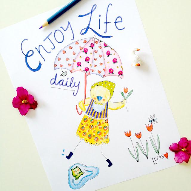 April's Free Art Print | Enjoy Life Daily by Lady Lucas