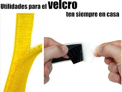 Velcro diferentes usos infinidad de trucos y manualidades
