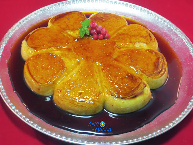 Flan de arroz con leche sin horno Ana Sevilla con Thermomix