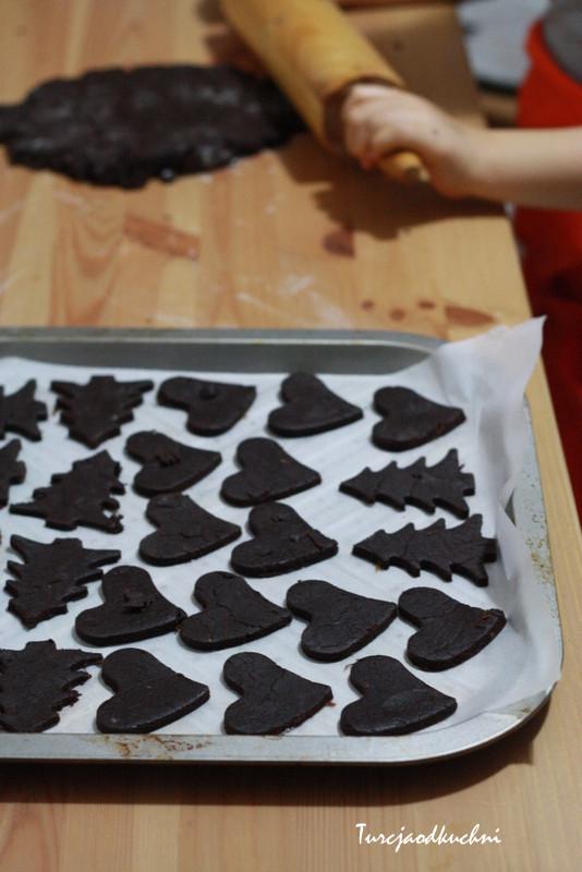 Mega czekoladowe pierniczki