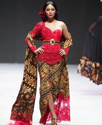 Model Kebaya Terbaru ntuk Wanita Gemuk