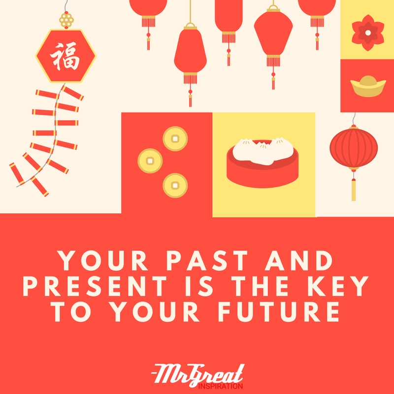 Your Past and Present is the Key to Your Future