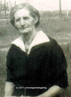Clémentine Desgroseilliers about 1948