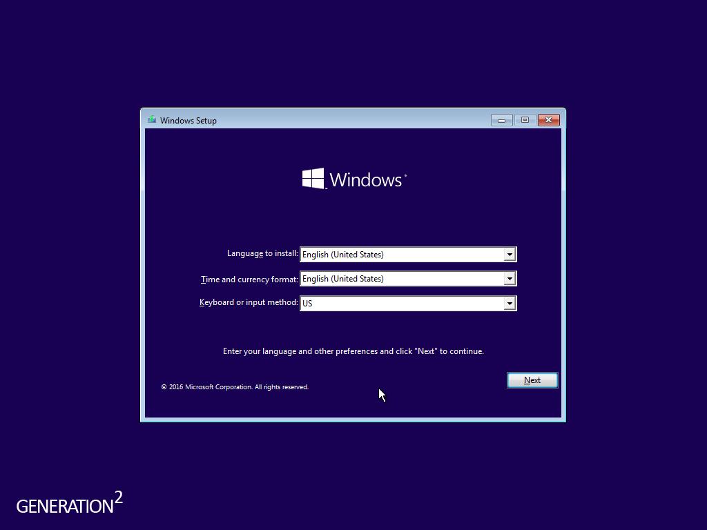 Windows 8.1 Core 2016