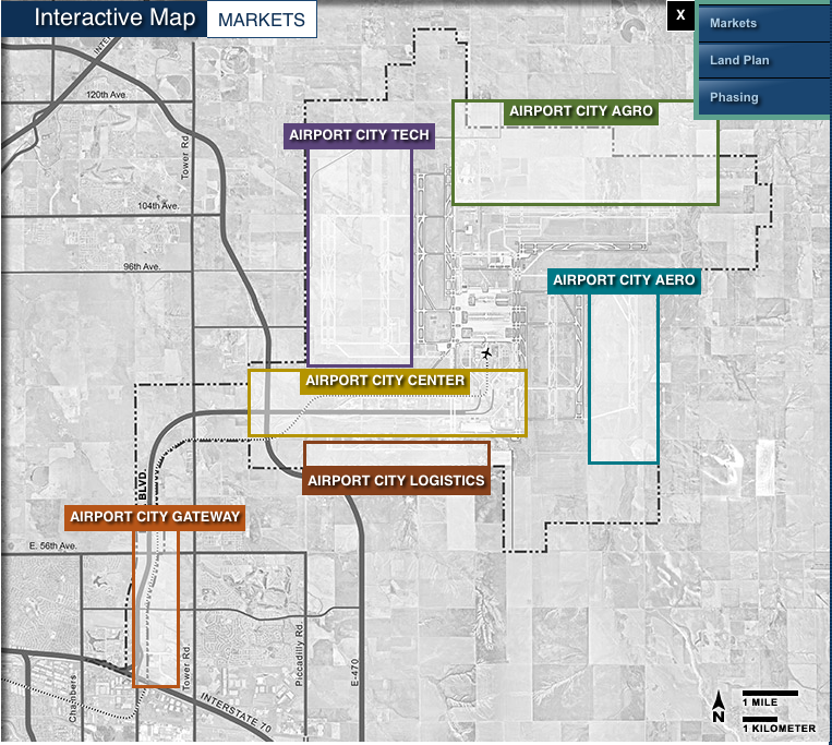 Denver Airport Den: About Airport Planning: Denver Airport Master Plan (DEN