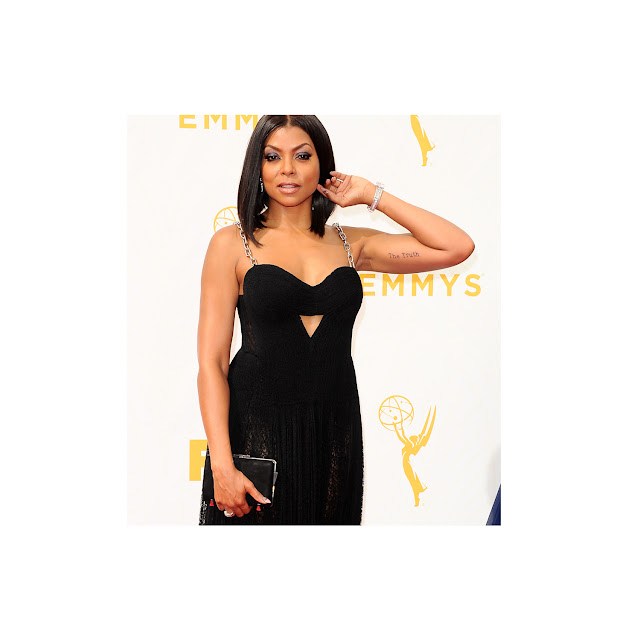 Platinum Jewelry Shines at the Emmy Awards' Red Carpet