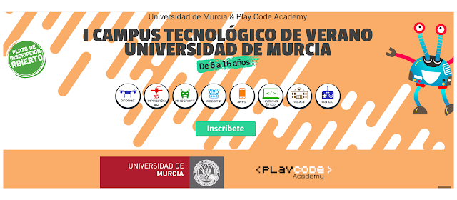 """Éxito rotundo del """"I Campus Tecnológico en la Universidad de Murcia""""."""