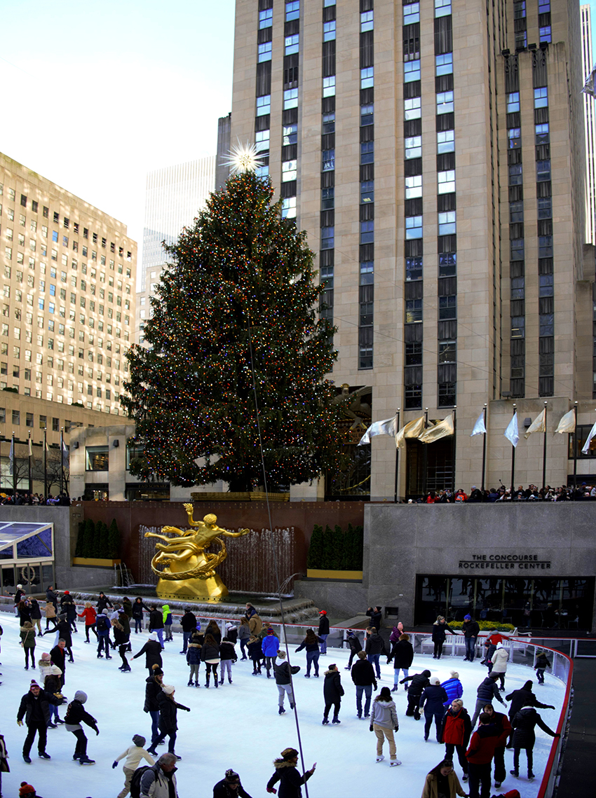 Weihnachten in New York City