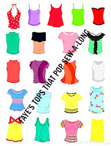 Tops that Pop Sew Along