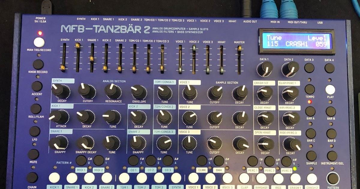 MATRIXSYNTH: New MFB TANZBAR 2 & New Eurorack Modules at