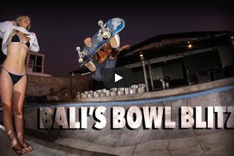 BTXTV : BALI'S BOWL BLITZ 9 Bowl to skate in bali