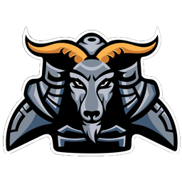 logo kambing metal