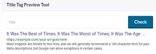 Cara melihat tampilan judul artikel blog