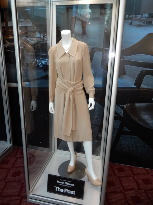 Meryl Streep Post Kay Graham film costume