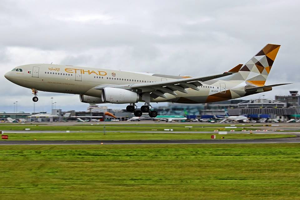 Irish Aviation Research Institute : First Etihad Airways