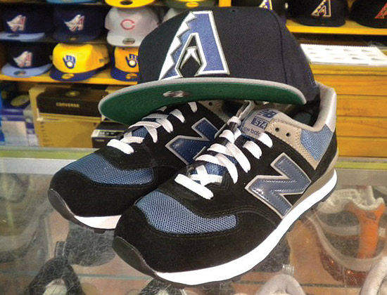 LEE S SNEAKER SHOP of Brooklyn has another custom Arizona Diamondbacks  fitted baseball cap. This time around its meant to match a pair of NEW  BALANCE 745s. 7ca6d60008